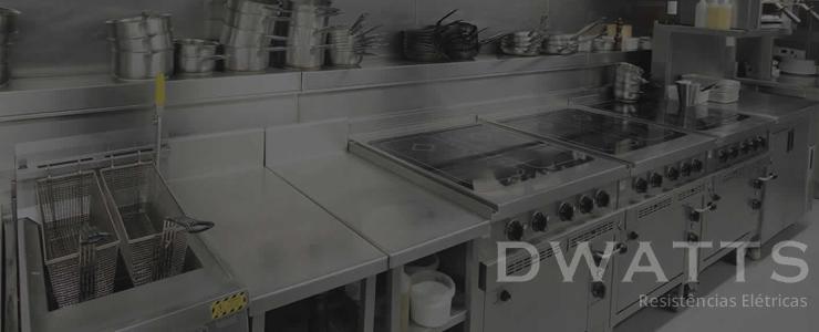 Resistências Elétricas Para Cozinha Industrial