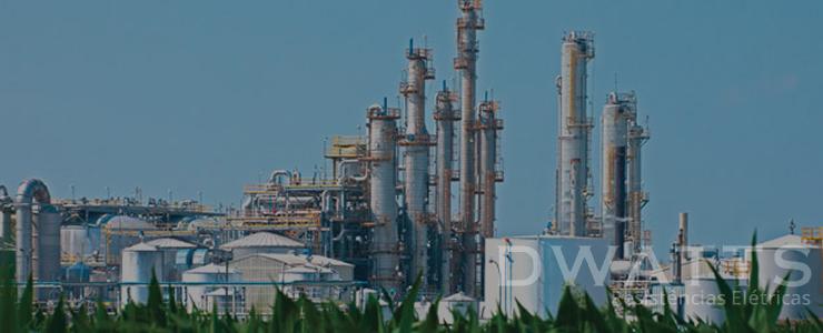 Resistência para Industria de Gás e Óleo